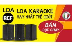 Mọi điều cần biết về loa RCF: Karaoke hay nhất thế giới và bán cực chạy