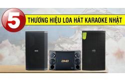 Top 5 thương hiệu loa hát karaoke Nhật nổi tiếng trên thế giới