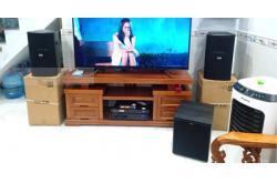 Lắp Đặt Dàn Karaoke Cho Gia Đình Anh Phong Ở Bình Chánh, TP.HCM