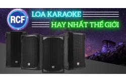 5 lý do vì sao nên mua loa RCF cho hệ thống karaoke gia đình