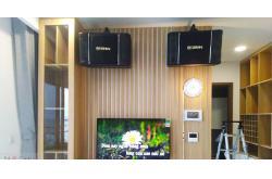 Dàn karaoke siêu Vip cho gia đình chị Vân tại Quận 10