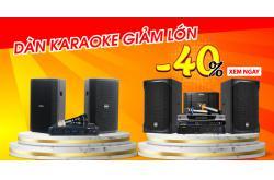 Hot sale: Nhiều bộ dàn karaoke giảm LỚN 40% tại Bảo Châu Elec