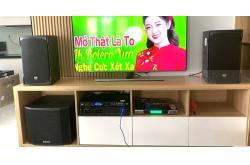Lắp đặt dàn karaoke gia đình anh Hoàng ở Bình Thạnh