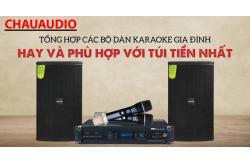 Tổng hợp các bộ dàn karaoke gia đình hay và phù hợp với túi tiền nhất ?