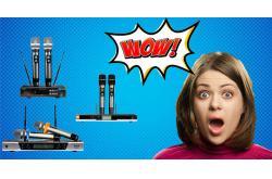 4 mẫu micro không dây giá rẻ hot nhất tại Bảo Châu Elec