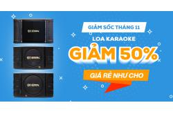 Giảm sốc tháng 11, Loa karaoke giảm 50%, giá rẻ như cho