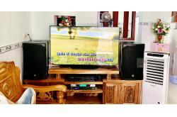 Lắp đặt dàn karaoke gia đình anh Hoài tại Bình Dương