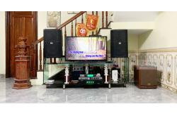 Tư vấn và lắp đặt dàn karaoke gia đình anh Quý tại Hà Nội