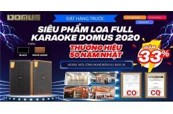 Đặt hàng trước- Loa karaoke Domus DK612 giá siêu yêu, quà siêu to