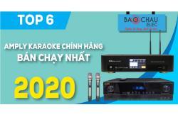 Top 6 Amply karaoke chính hãng bán chạy nhất năm 2020 tại Bảo Châu Elec