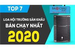 Top 7 Loa hội trường sân khấu bán chạy nhất 2020 tại Bảo Châu Elec