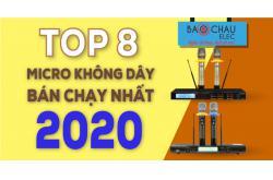 Top 8 Micro không dây bán chạy nhất năm 2020 tại Bảo Châu Elec