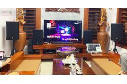 Lắp đặt dàn karaoke gia đình chú Minh tại Thanh Hóa