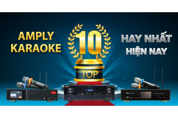 Top 10 Amply Karaoke hay nhất hiện nay | Bán chạy 2021