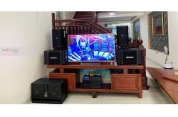 Tư vấn và lắp đặt dàn karaoke gia đình anh Trọng tại Hưng Yên