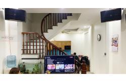 Tư vấn và lắp đặt dàn karaoke gia đình anh Tuấn tại Hà Nội