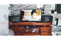 Tư vấn và lắp đặt dàn karaoke gia đình anh Khoa tại TP HCM