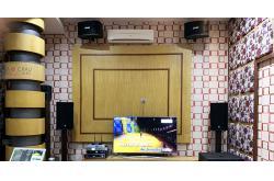 Lắp đặt dàn karaoke gia đình anh Dũng tại Hà Nội