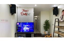 Lắp đặt dàn karaoke gia đình anh Linh tại Hà Nội