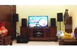 Lắp đặt dàn karaoke gia đình anh Thuyết tại Bắc Ninh