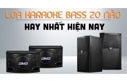 Loa karaoke bass 20 nào hay nhất hiện nay?