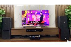Tư vấn và lắp đặt dàn karaoke gia đình anh Cường tại Hà Nội