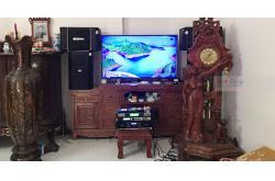 Lắp đặt dàn karaoke gia đình anh Tuyên tại Bắc Ninh