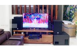 Tư vấn và lắp đặt dàn karaoke gia đình anh Trường tại Hà Nội