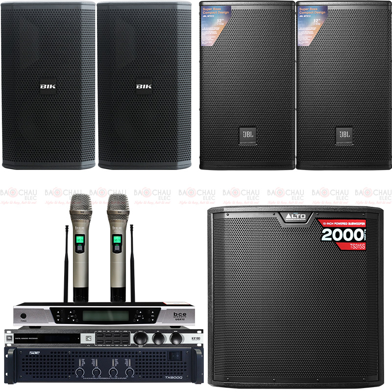 Dàn karaoke cao cấp 2020-10