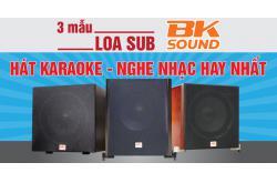 3 mẫu Loa sub BKsound hát karaoke nghe nhạc hay nhất hiện nay