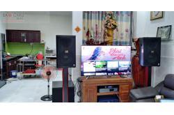 Lắp đặt dàn karaoke gia đình chị Uyên tại Long An