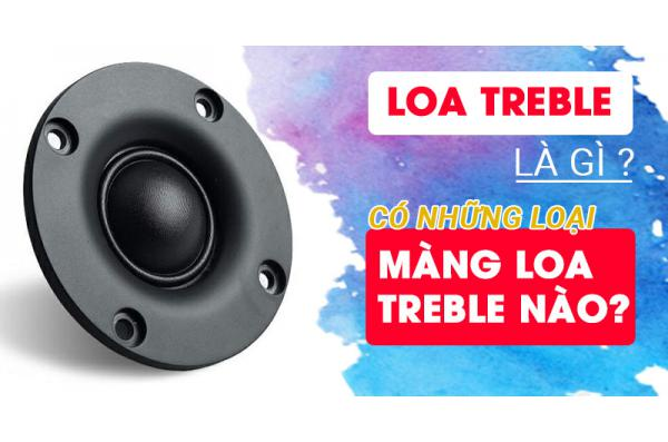 Loa Treble là gì? Có những loại màng loa treble nào?