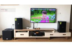 Tư vấn và lắp đặt dàn karaoke gia đình anh Kính tại Hà Nội