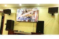 Lắp đặt dàn karaoke gia đình anh Chiến tại Bắc Ninh
