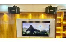 Lắp đặt dàn karaoke, nghe nhạc, xem phim 5.1 anh Trọng tại TP HCM