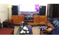 Lắp đặt dàn karaoke gia đình anh Chiến tại Bắc Giang