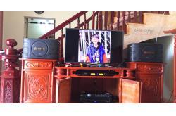 Lắp đặt dàn karaoke gia đình anh Cường tại Bắc Ninh