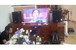 Lắp đặt dàn karaoke gia đình anh Dũng tại Ninh Bình
