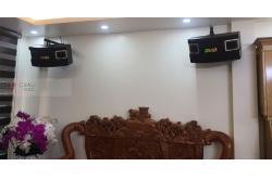 Lắp đặt dàn karaoke gia đình anh Vượng tại Hà Nội