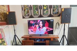 Lắp đặt dàn karaoke gia đình anh Long tại Hà Nội
