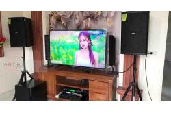Lắp đặt dàn karaoke gia đình anh Lực tại Nam Định