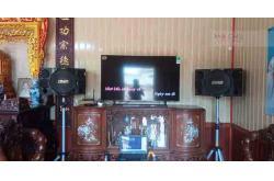 Lắp đặt dàn karaoke gia đình anh Trường tại Nam Định