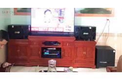 Lắp đặt dàn karaoke gia đình anh Lương tại Bắc Ninh