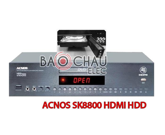 ACNOS SK8800 HDMI HDD