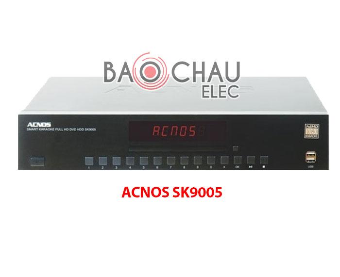 Đầu karaoke ACNOS sk9005