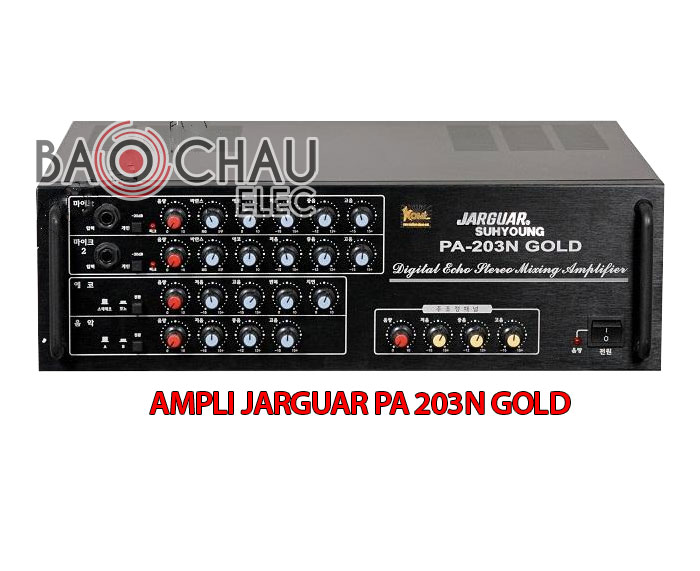 Amply Jarguar Suhyoung PA-203N Gold do KOMI