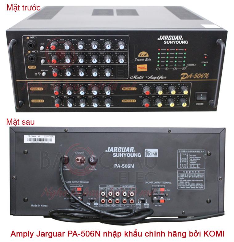 Amply Jarguar PA-506N do KOMI nhập khẩu chính hãng - Giá tốt nhất Hà Nội