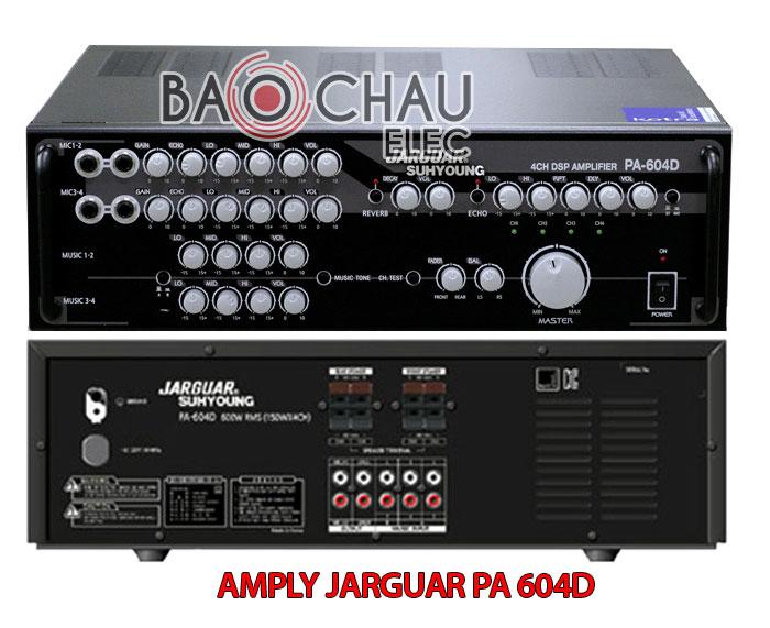 AMPLY JARGUAR PA 604D giá rẻ chính hãng tại Hà Nội - ChâuAudio
