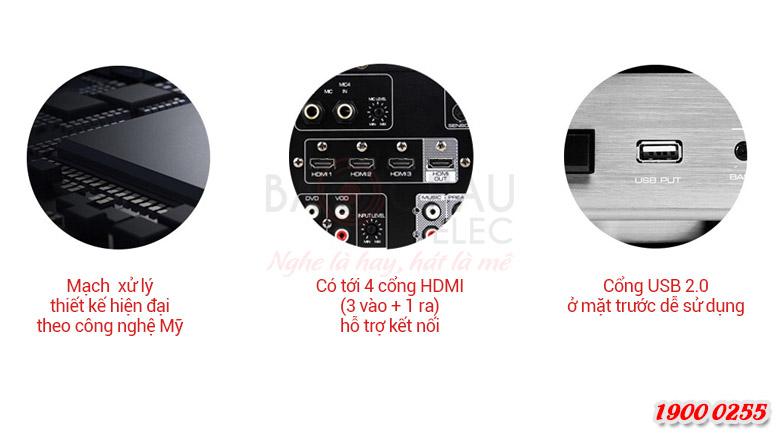 Amply karaoke JBL KAR3502 - chi tiết 2