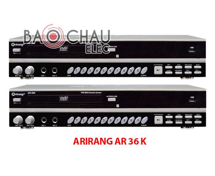 Đầu karaoke Arirang AR 36 K